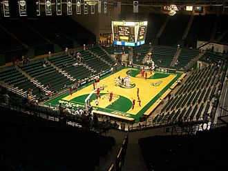 Charlotte 49ers men's basketball - Halton Arena, the 49ers home venue since 1996.