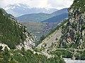 Daluis - Vallée du Haut-Var - Pont de la D316 vers la Vignasse et Saint-Léger.JPG
