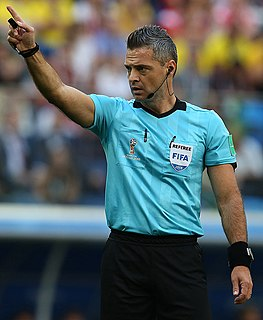 Damir Skomina Slovenian football referee