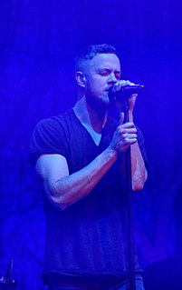 Dan Reynolds (singer) American singer and songwriter, member of Imagine Dragons