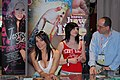 Dana DeArmond and Andy San Dimas at AVN Adult Entertainment Expo 2008.jpg
