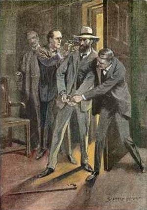 The Adventure of the Dancing Men - Slaney is arrested.