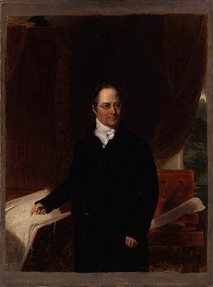 Daniel Asher Alexander - Portrait of Daniel Asher Alexander by John Partridge, circa 1818