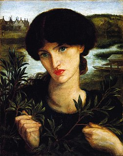 <i>Water Willow</i> (Rossetti) 1871 oil painting by Dante Gabriel Rossettii