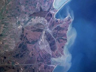 Danube delta satelite