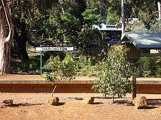 Darlington, Western Australia - Image: Darlington station reserve