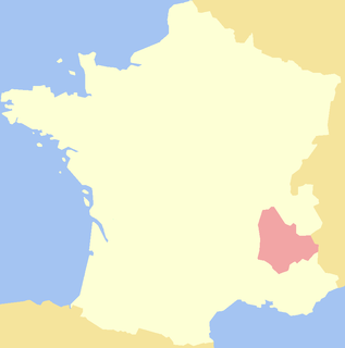 Dauphiné Place in France
