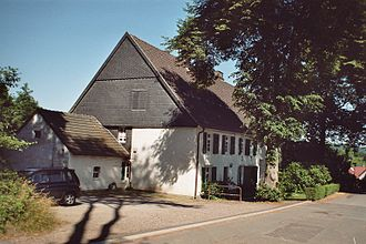 Henriette Davidis - birthplace of Henriette Davidis in Wengern