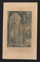 De Lieve Vrouwe-kerk [kathedral] te Antwerpen van binnen