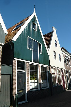 Traditional houses in De Rijp