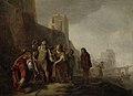 De gezanten van Alexander de Grote bekleden de tuinman Abdalonymos met de insigniën der koningswaardigheid van Sidon Rijksmuseum SK-A-1458.jpeg