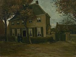 Vincent van Gogh: The Vicarage at Nuenen