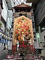 Decorated dashi at Shintencho Shopping Street.jpg