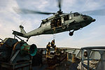 Defense.gov News Photo 120313-N-ZZ999-002 - A U.S. Navy MH-60S Seahawk helicopter attached to Helicopter Sea Combat Squadron 28 conducts a shipboard extraction from an Italian Navy training.jpg