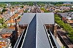 Delft Blick von der Nieuwe Kerk aufs Kirchendach 2.jpg
