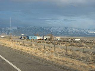 Delle, Utah Ghost town in Utah, United States