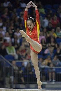 Deng Linlin Chinese artistic gymnast