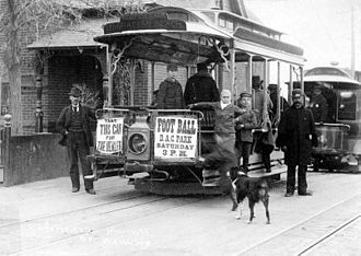 Denver Tramway - Denver cable car, 1895