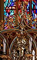 Der germanische Gott Tor im Lüster der Michaelskapelle, Ochsenfurt. 02.jpg