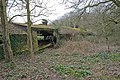 Derelict poultry shed beside footpath at Whitehouse Farm - geograph.org.uk - 738947.jpg