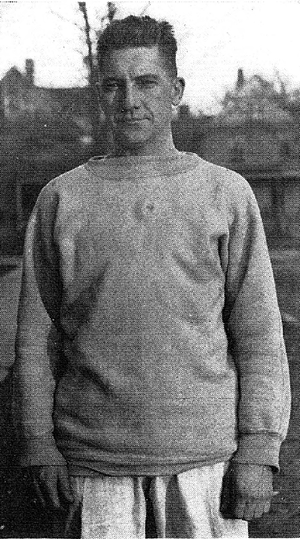 Del Pratt - Del Pratt as an assistant football coach at the University of Michigan, 1920.