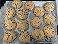 Des cookies fait maison sortis du four (janvier 2020).jpg