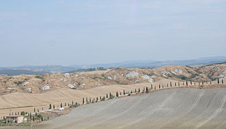 Accona Desert - Accona desert landscape.