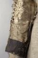 Detaljbild på ärm, Gustav II Adolfs älghudsskyller från Dirschau år 1627 - Livrustkammaren - 22477.tif