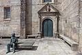 Detalle do lateral da igrexa de Santa María da Guarda. Galiza G56.jpg
