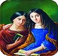 Deux Demoiselles, Michel Sinner, 1845 (cropped).jpg