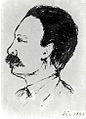Dibujo de José Martí hecho por Bernardo Figueredo Antúnez, Florida, 1892.jpg