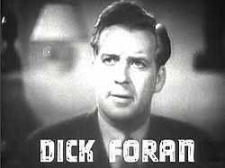 Confirm. join dick foran actor thank for