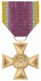 Dienstauszeichnung Offiziersdienstkreuz für 55 Dienstjahte in Mecklenburg-Schwerin 1841 - 1872.png