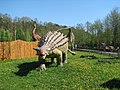 Dinosaur model in Bałtów Jurassic Park.jpg