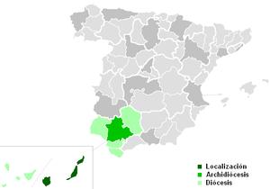 Roman Catholic Diocese of Canarias - Image: Diocesisdecanarias