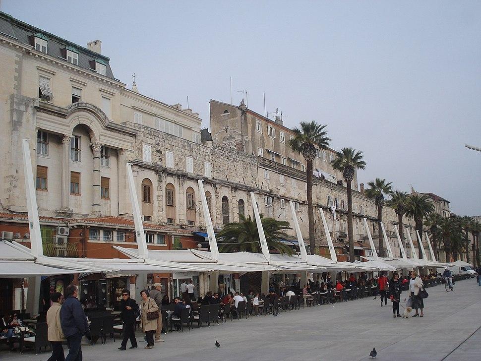 Dioklecijanova palača, Split - jugozapad