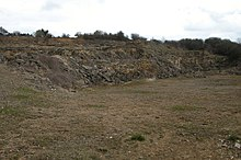 Disused Quarry near Bourton Far Hill Farm - geograph.org.uk - 153726.jpg
