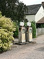 Disused petrol pumps, Talaton - geograph.org.uk - 253836.jpg