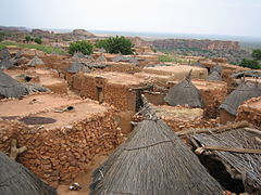 Dogon village rooftops by David Sessoms.jpg