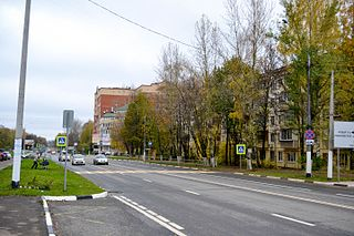 Dolgoprudny Town in Moscow Oblast, Russia