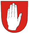 Coat of arms of Domašov nad Bystřicí