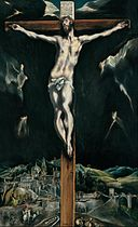 Domenikos Theotokopoulos, El Greco - Christ crucified with Toledo in the Background - Google Art Project.jpg