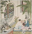 Domestic Scene from an Opulent Household. Qianlong period. Museum of Fine Arts. Boston.jpg