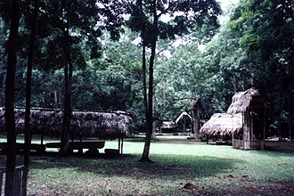 Dos Pilas - The Central Plaza of Dos Pilas.