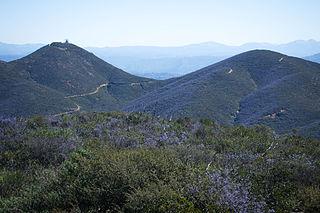 Double Peak (San Diego County, California)