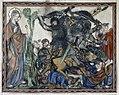 Douce Apocalypse - Bodleian Ms180 - p.031 Horsemen attack.jpg