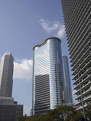 Chevron Corporation - Chevron tower in Houston
