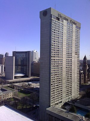 Sheraton Hotels and Resorts - Image: Downtown toronto