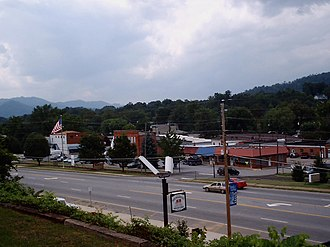 Clyde, North Carolina - Downtown area of Clyde