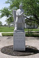 Dr Ashbel Smith statue, Baytown, Texas.jpg